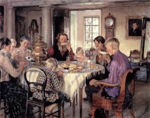 Русские традиции чаепития