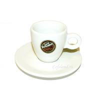 """Кофейная пара Эспрессо """"Vergnano"""" белая"""