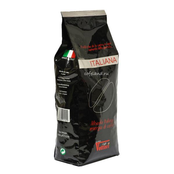 Кофе в зернах Vettori Italiana 1 кг