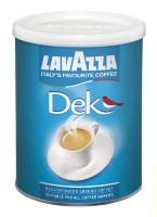 Кофе молотый Lavazza Decaffeinato 250 гр в банке