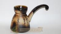 Фарфоровая турка для кофе Сосны 380мл